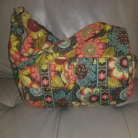 2860306318da Vera Bradley Cargo Sling Flower shower. M 5c32ce23aa87704af880102a. Other  Bags ...